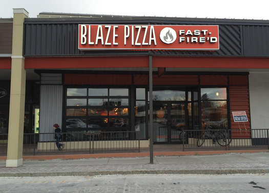 Blaze Pizza Stuyvesant Plaza exterior 2016-January
