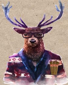 Festival of Manliness deer