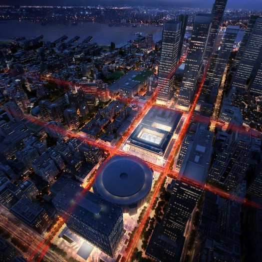 Penn Station redev rendering
