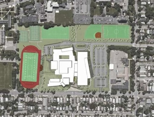 albany high school redev revised plan overview