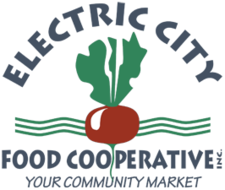 electric city food coop logo