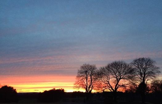capital hills sunset 2016-02-04