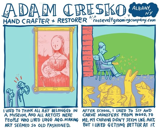 creative everyday adam cresko clip