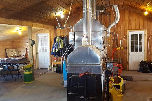 sap house stone house farm evaporator