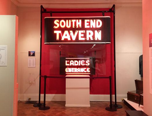 south end tavern signs at RCHS