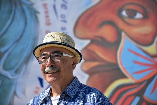 US poet laureate Juan Felipe Herrera