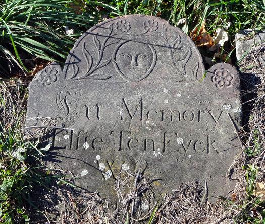 albany rural cemetery Elsie Cuyler Ten Eyck headstone