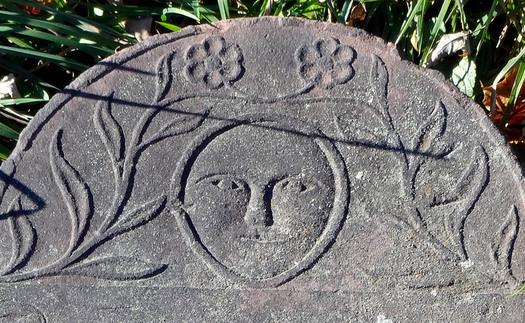 albany rural cemetery Elsie Cuyler Ten Eyck soul effigy closeup