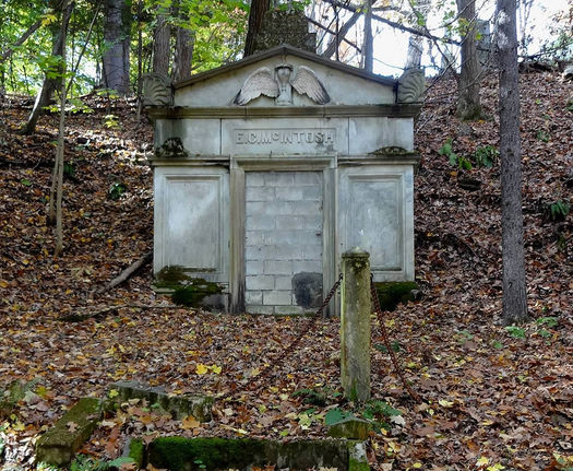 albany rural cemetery McIntosh vault