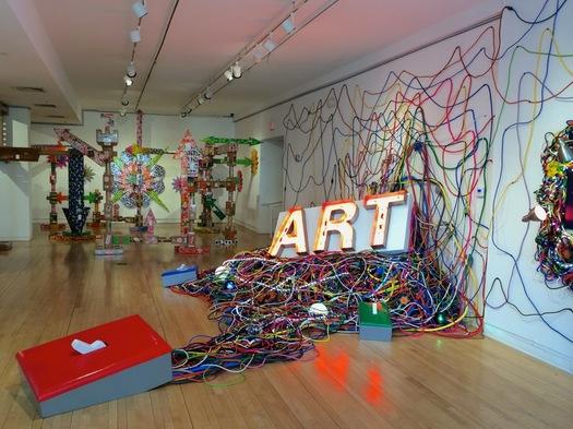 arts center exhibit abe ferraro