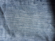 blue jean fabric closeup