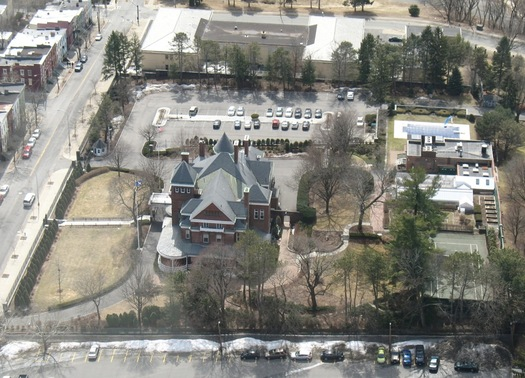executive mansion from corning tower