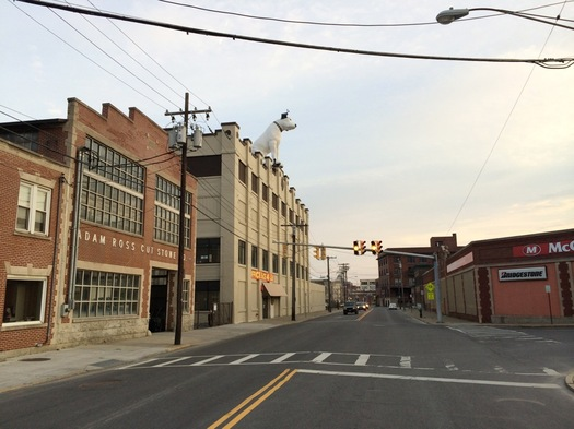 Broadway Albany Warehouse District 2016-April