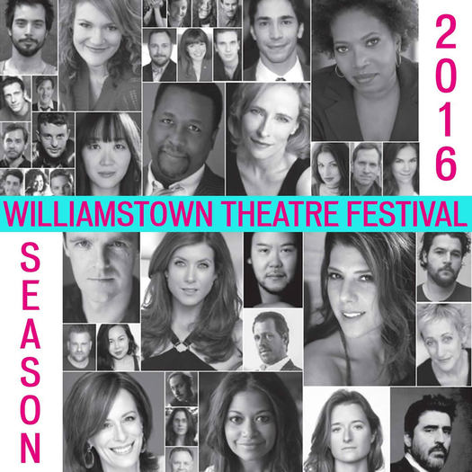 Williamstown Theatre Festival 2016 casting poster