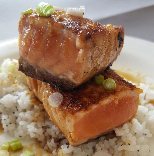 deanna fox recipe maple soy salmon