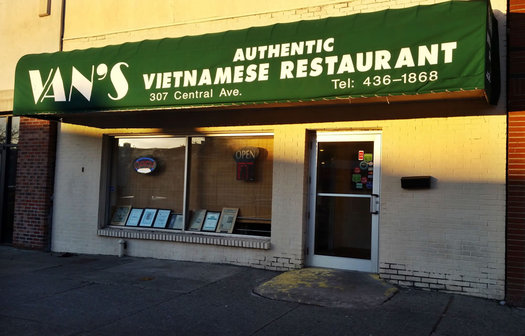 van's vietnamese restaurant exterior 2016-April