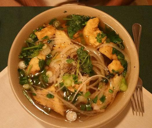 van's vietnamese vegetarian pho