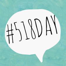 518 Day logo
