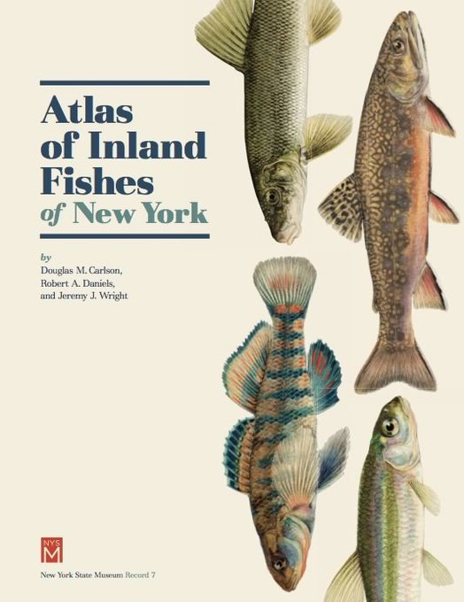Inland Fishes of New York 2016 cover