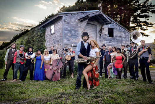 Vaud and the Villains music act
