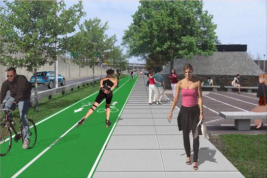 Quay Street rendering