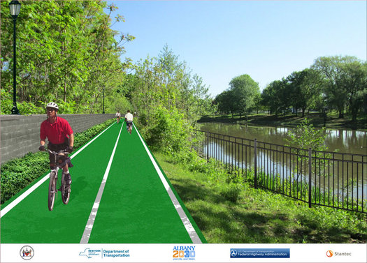 tidal pond path rendering