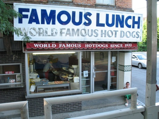 Famous Lunch Troy exterior 2012-June