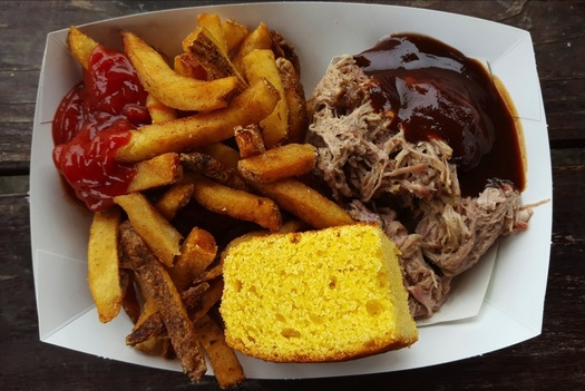 Middleburgers pulled pork plate