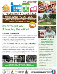 Schenectady HOMES fair 2016 poster