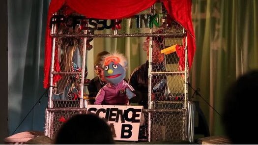 West Fulton Puppet Festival Professor Tinkers