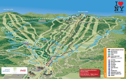 Windham Bike Park Trail Map 2016 clip