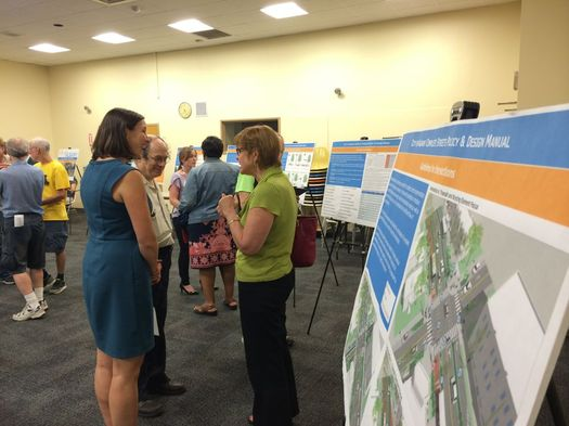 albany complete streets draft meeting boards