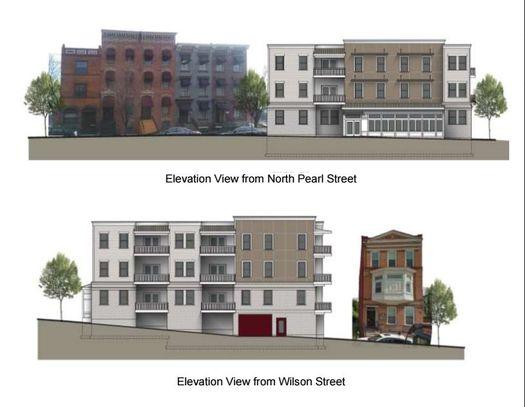 191 N Pearl residential rendering