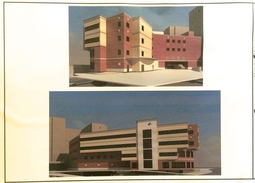 Albany Med pediatric emergency department renderings 1