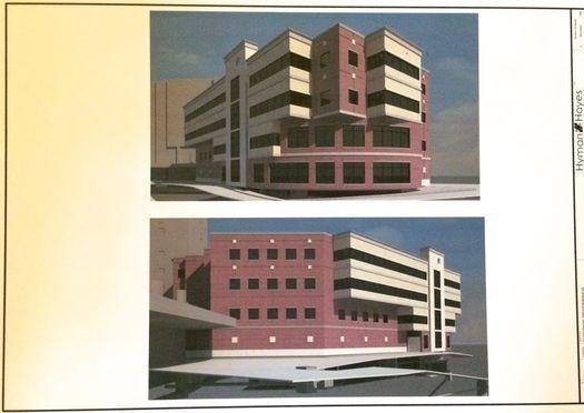 Albany Med pediatric emergency department renderings 2