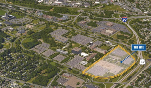 Harriman Campus parcel for sale diagram