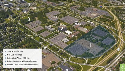 Harriman campus site for sale overview