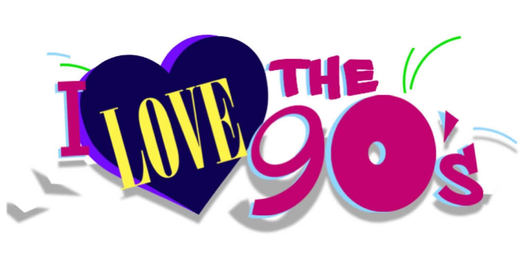 I Love the 90s music tour logo