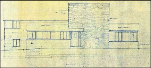 Lafferty House Niskayuna Civkin blueprint