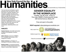 NYCH workplace gender equality townhall 2016-07-26 poster