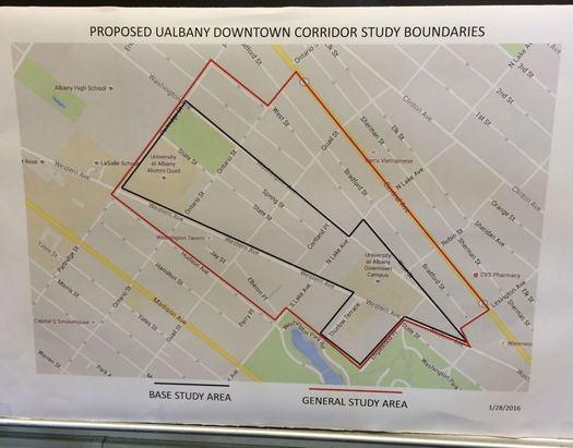 Ualbany Downtown Campus Map.Looking At The Future Of Ualbany S Downtown Campus And The