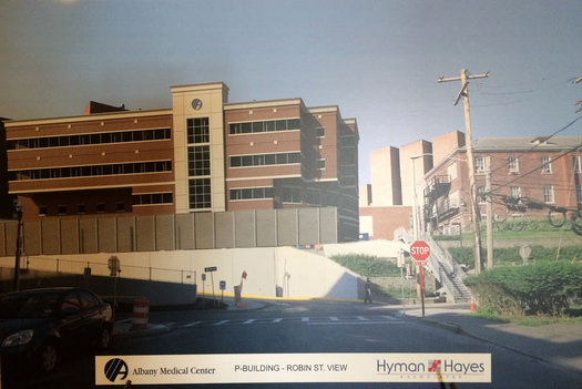 Albany Med Myrtle pediatric ED rendering2 2016-August