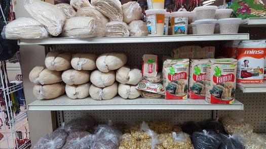 Oaxaquena Triqui interior grocery items