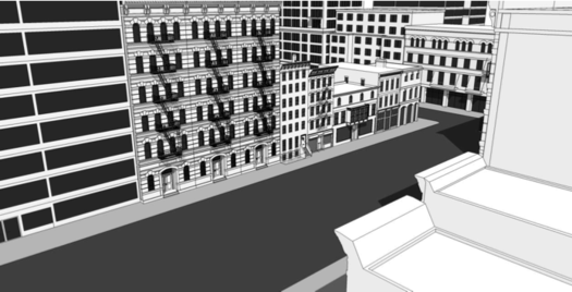 rezone albany mixed use downtown concept drawing