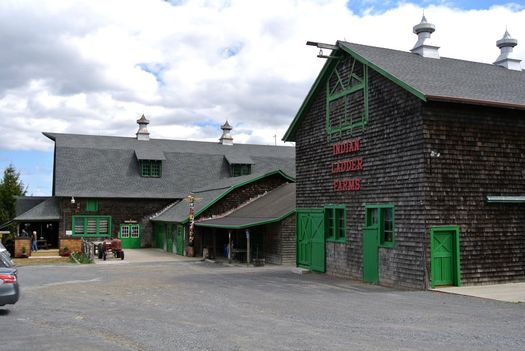 Indian Ladder Farms barns exterior