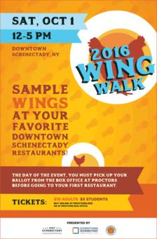Schenectady Wing Walk 2016 poster