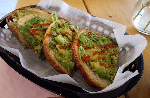 Superior Merchandise avocado toast