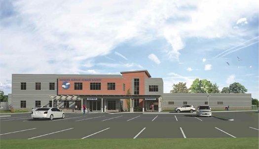 mohawk hudson humane new building rendering