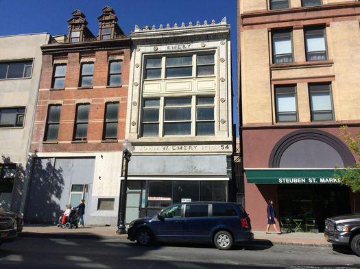 54 N Pearl Albany John W Emery building wide