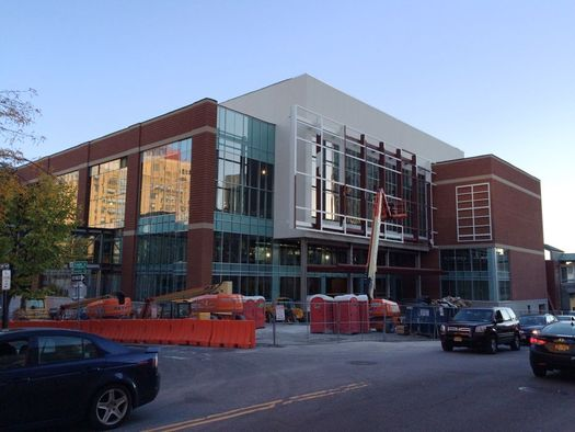 Albany Capital Center construction exterior 2016-October